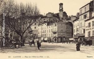 Cannes dans les années 1870