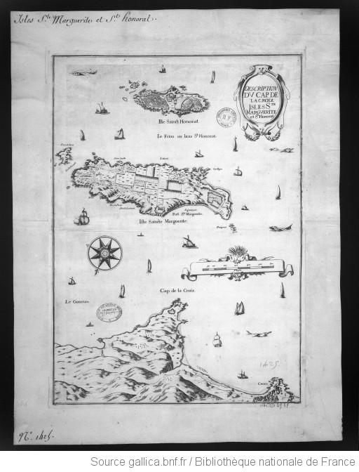 Isles de Lérins au XVIII ème siècle